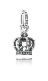 Pandora crown pendant charm