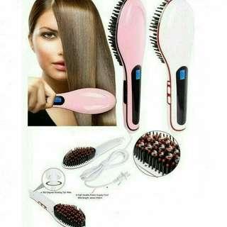 Catok rambut sisir