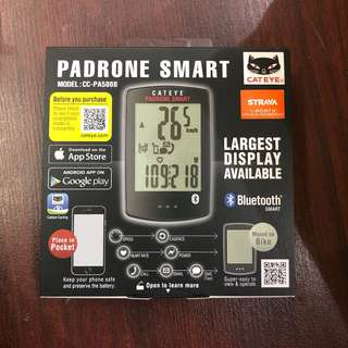 New: Cateye Padrone Smart wireless Cycling speedometer