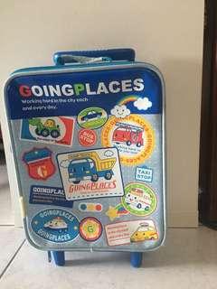 兒童兩輪拉桿小行李箱