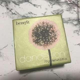 benefit blush dandelion full size