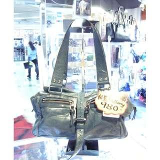 Mulberry Green Leather Shoulder Hand Bag 綠色 牛皮 皮革 手挽袋 手袋 肩袋 袋