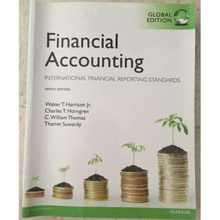 FA/Financial Accounting TB 9th edition pearson