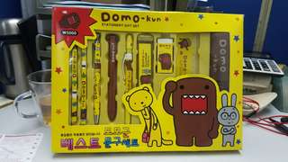 Domo kun stationery gift set