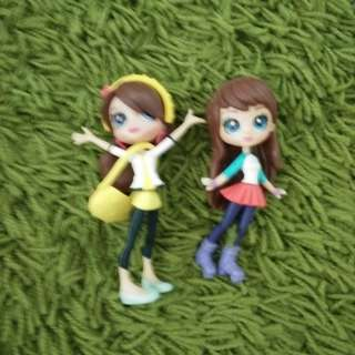 Free mail - Small Figurine Girls' Toys