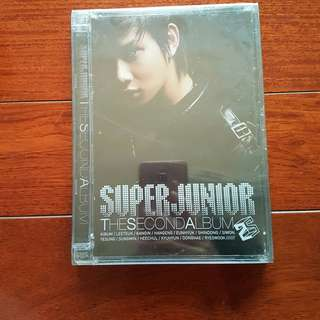 SUPERJUNIOR THE SECOND ALBUM