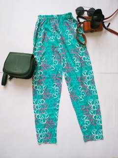 Tosca motif pants
