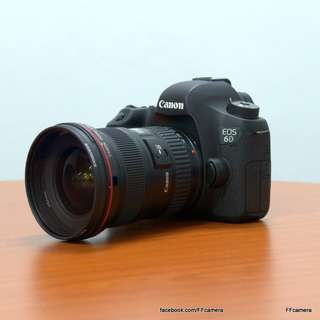 Canon 6D + 16-35mm F2.8 L MKII untuk disewa