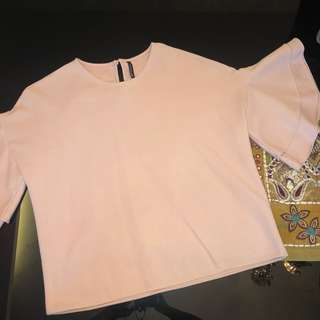 Soft Pink Bell Top