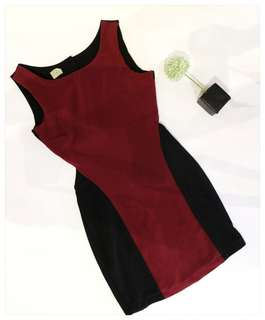 Red - Black Dress (party Dress)
