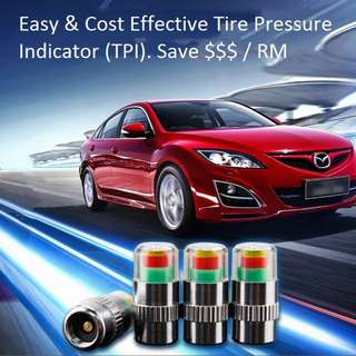 TIRE PRESSURE CHECKER INDICATOR