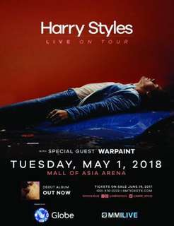 LOOKING FOR: 2 GOLD HARRY STYLES TICKETS 6-10K EACH