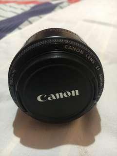 Canon Prime lens EF 50mm