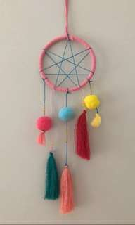 Dream catcher for kids baby nursing room decor teepee kids tassel room decor