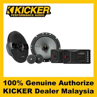 "KICKER KS 6.75"" 2-Way Component Speaker - KSS6704"