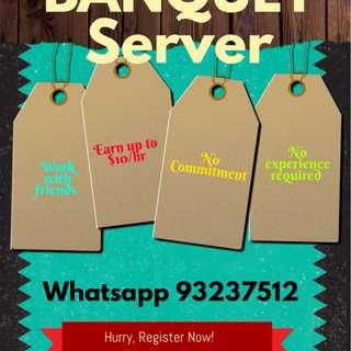 PT Banquet Server