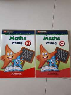 Kindergarten Essentials - Maths Writing (K1 and K2) by Dr Yeap Ban Har (UP: $9.60)
