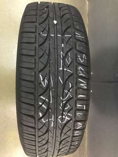 215/60/16 sumitomo used tyre 90% tread 1pc only