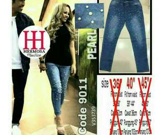 Pearl Plus Size Jeans