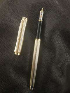 pelikan 18k fountain pen