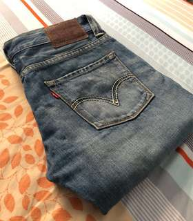 Levi's 522 Slim Straight Jeans