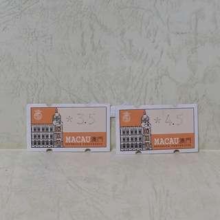 澳門郵票-電子郵票