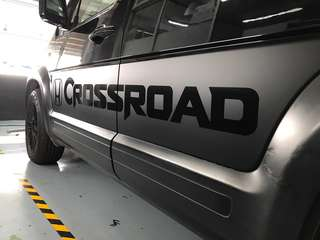 Honda crossroad side design