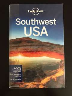 Southwest USA lonely planet 7th edition 2015
