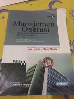 Manajemen Operasi Heizer dan Render edisi 11