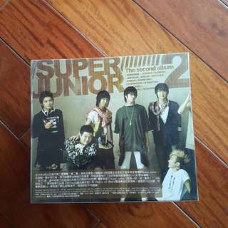 🚚 SUPERJUNIOR SECOND ALBUM CD+DVD
