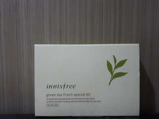 Innisfree GreenTea Fresh Special Kit