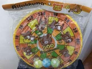 鬆弛熊飛球遊戲Rilakkuma Dart Game