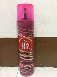 bath and body works: be joyful