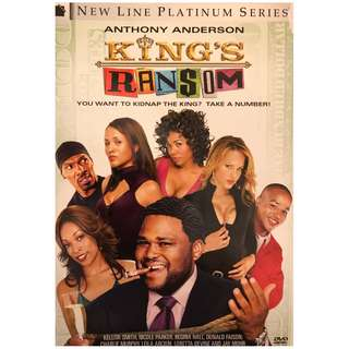 DVD - KING'S RANSOM (ORIGINAL USA CODE 1)