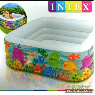 Intex square pool