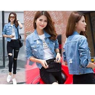Jaket jeans fanny