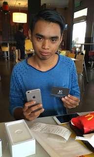 Tq bro pangkor angkut iPhone 6 64gb fullset