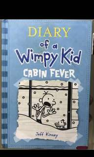 Diary of A Wimpy Kid: Cabin Fever (Hardbound)