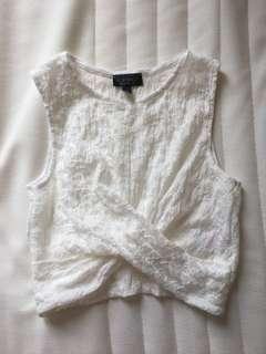 Topshop white shirt