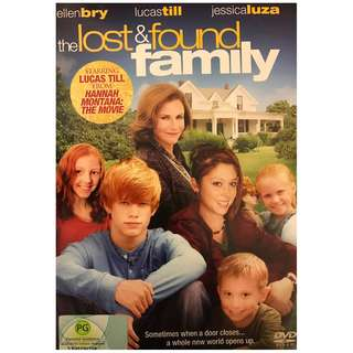 DVD - THE LOST & FOUND FAMILY (ORIGINAL USA IMPORT CODE 1)