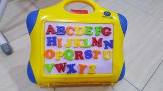 Alphabet Magnetic Portable Board