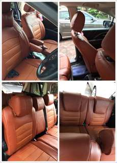 Mazda 5 leather seat cover 7 seats (Customsie)
