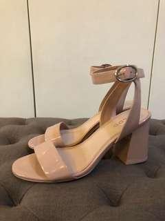 Aldo Block heels size 6.5US