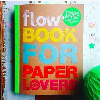 BN without wrap FLOW book for paper lovers