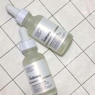 現貨 The Ordinary Hyaluronic Acid 2% + B5 超純補水玻尿酸