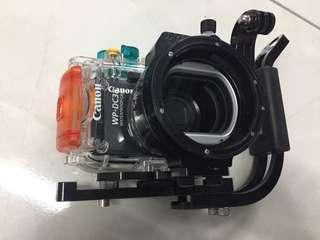 Excellent Condition S95 Digital Camera with Original Underwater Housing + accessories