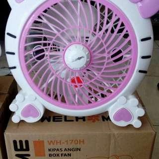 Box fan (kipas angin)