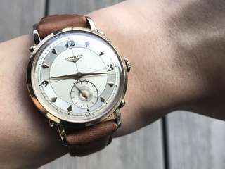 *Reduced* Longines Anniversary Solid Gold Automatic Watch
