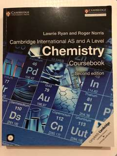 Cambridge International AS and A Level Chemistry Coursebook - Second Edition