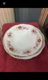 Vintage 5 Porcelain Plate